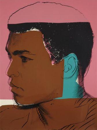 Screenprint Warhol - Muhammad Ali (Fs Ii.179) By Andy Warhol