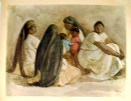 Offset Zuniga - Mujeres de Oaxaca, Galeria de Arte Misrachi