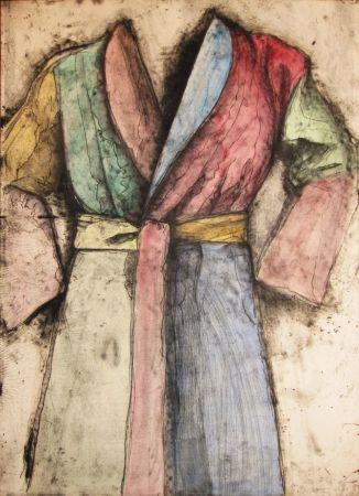 Lithograph Dine - Multicolored Robe