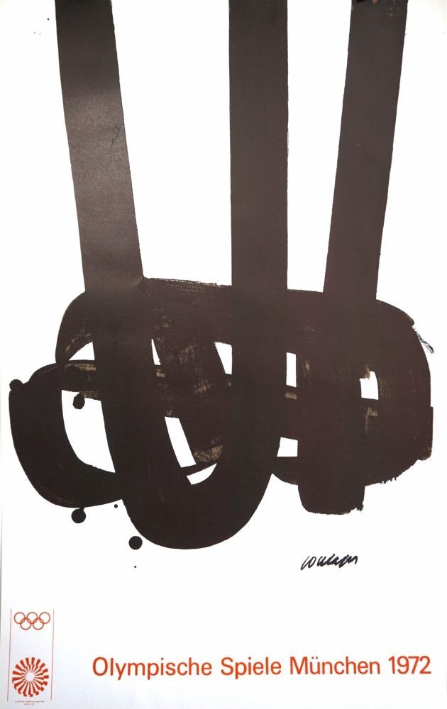Lithograph Soulages - Munich 72