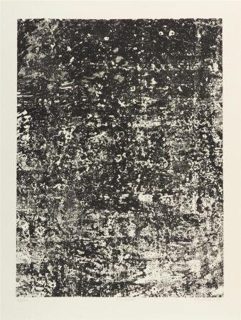 Lithograph Dubuffet - Mur Ecaill