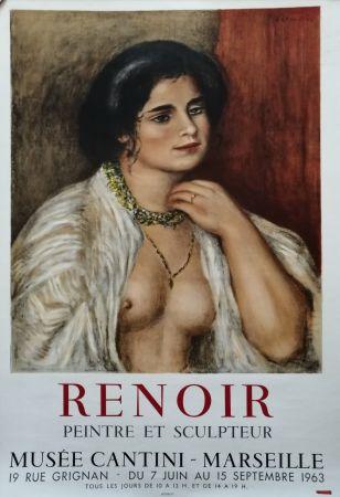 Poster Renoir - Musée Cantini - Marseille