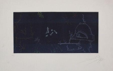 Etching Ponc - Musée d'Art Moderne de la Ville de Paris