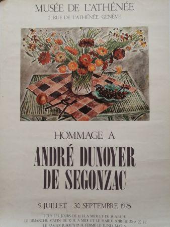 Poster De Segonzac - Musée de l'Athénée - Genève