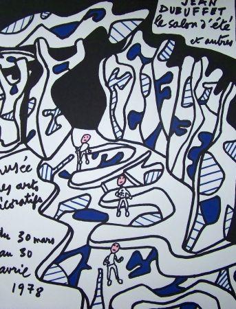 Poster Dubuffet - Musée des arts décoratifs