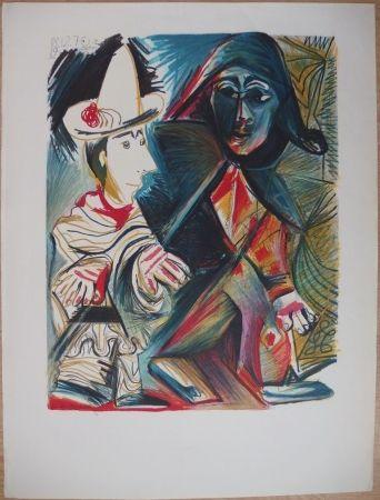 Lithograph Picasso - Musée Dynamique - Dakar (épreuve avant la lettre)