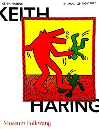 Poster Haring -  Musée Folkwang de ESSEN