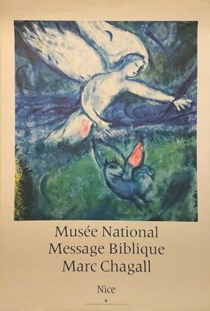 Poster Chagall - '' Musée National Message Biblique ''