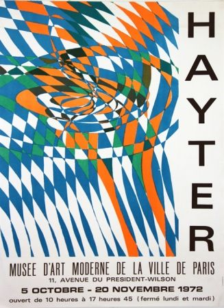 Lithograph Hayter - Musee D'Art Moderne de Paris