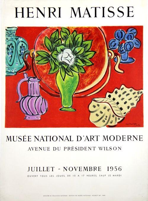 Lithograph Matisse - Musee Natianal D'Art Moderne