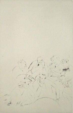 Drypoint Pascin - Music-Hall