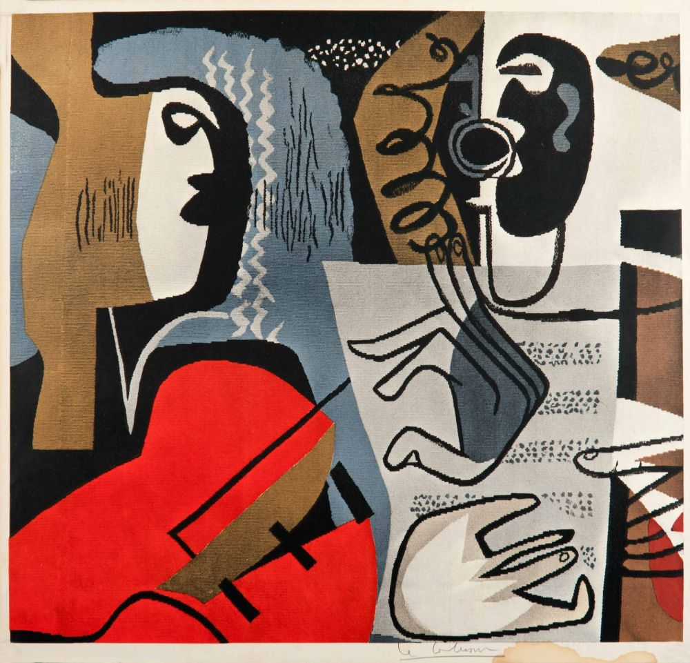 Offset Le Corbusier - Musiciennes (hand-signed)