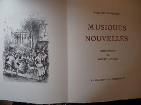 Illustrated Book Lotiron - Musiques nouvelles