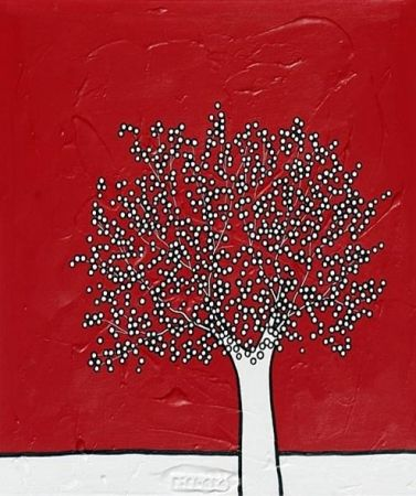Lithograph Scott - My red sky
