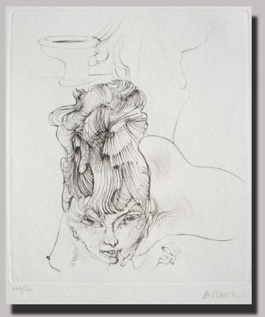 Lithograph Bellmer - Mystère du confessionnel 4