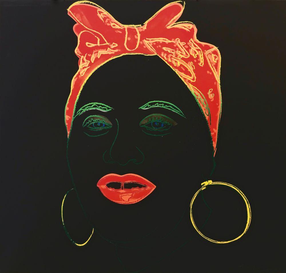 Screenprint Warhol - MYTHS: MAMMY FS II.262