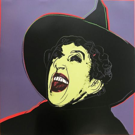 Screenprint Warhol - Myths: The Witch