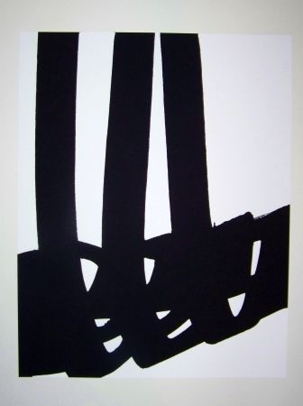 Lithograph Soulages - N°29 1972
