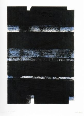 Lithograph Soulages - N 3 2 a