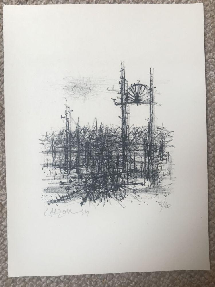 Lithograph Carzou - N/A