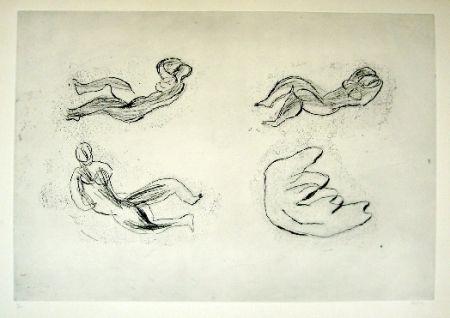 Engraving Fautrier - Naissance de la femme