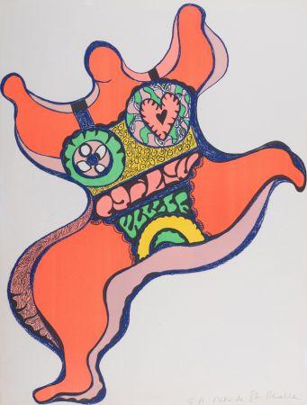 Lithograph De Saint Phalle - Nana, 1971. Lithographie signé.