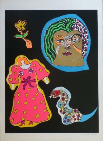 Screenprint De Saint Phalle - NANA POWER