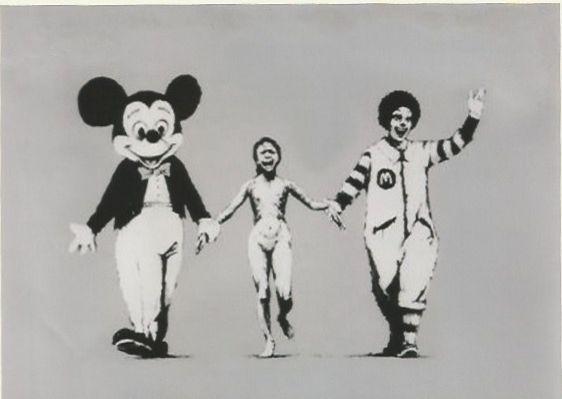 Screenprint Banksy - Napalm