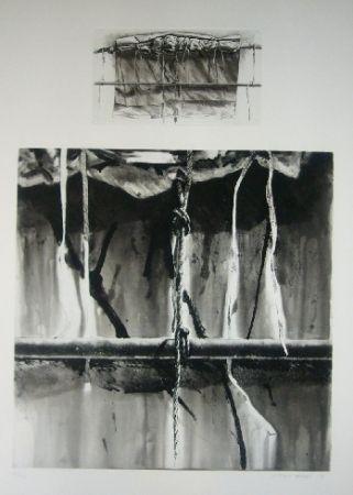 Aquatint Titus Carmel - Narwa 3