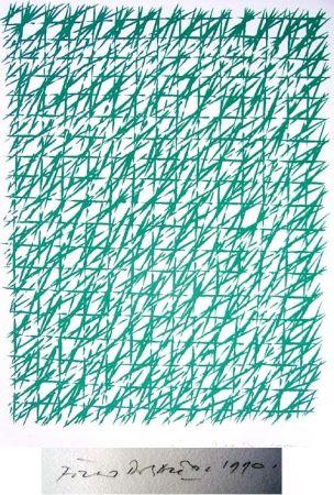 Lithograph Dorazio - Natale
