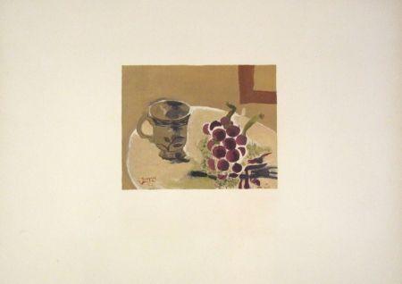 Lithograph Braque - Nature morte
