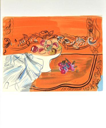 Lithograph Dufy - Nature Morte