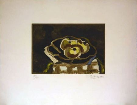 Engraving Braque - Nature morte