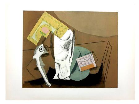 Lithograph Picasso (After) - Nature Morte Cubiste