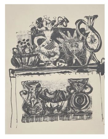 Lithograph Clavé - Nature morte / Still life