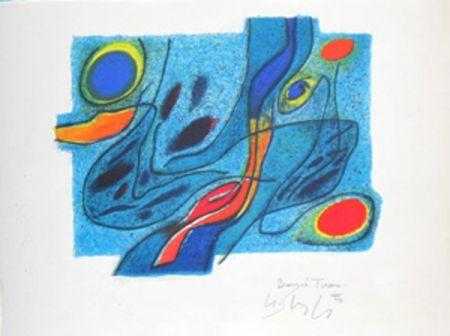 Lithograph Singier - Neree 2