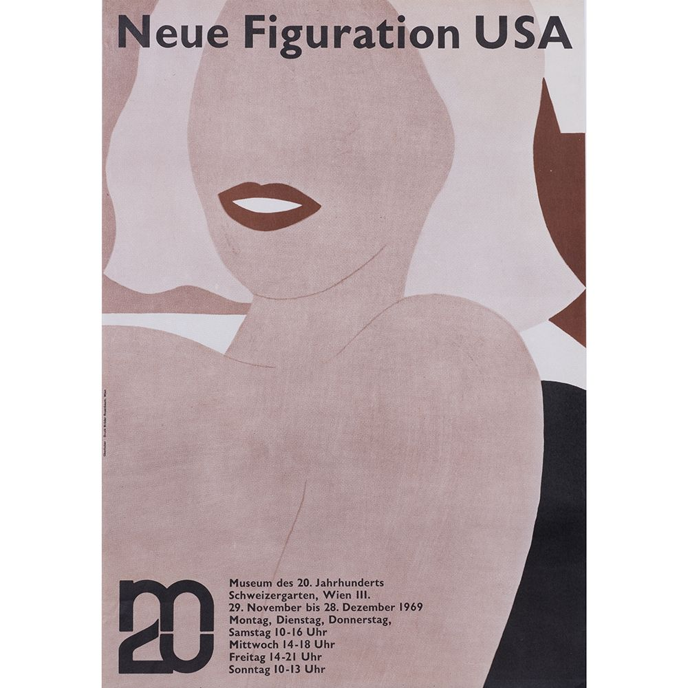 Poster Wesselmann - Neue figuration USA 1969