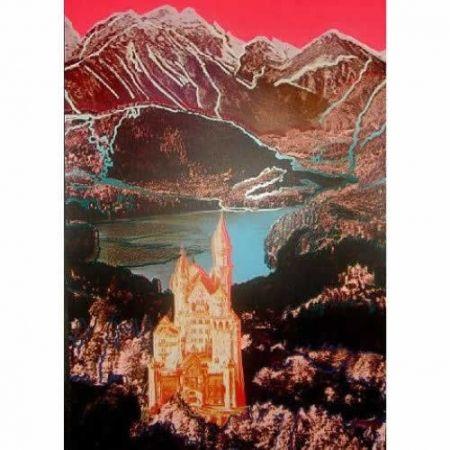 Screenprint Warhol - Neuschwanstein