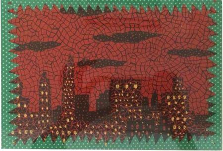 Lithograph Kusama - New York