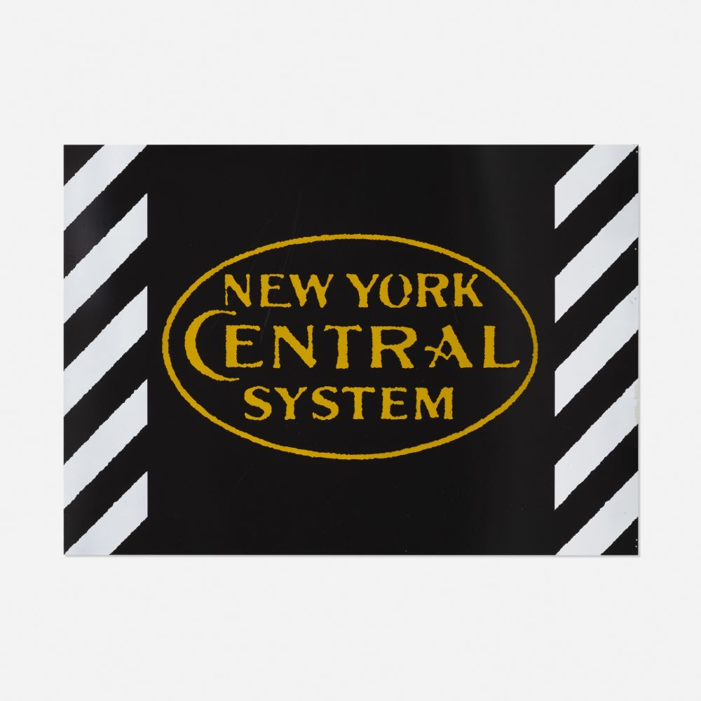 Screenprint Cottingham - New York Central System