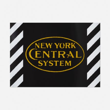 Screenprint Cottingham - New York Central System