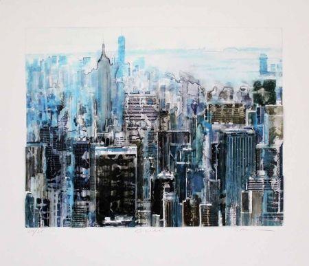 Multiple Salzmann - New York contre jour