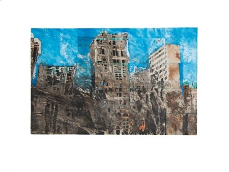 Etching And Aquatint Salzmann - New York Reflexion 2004