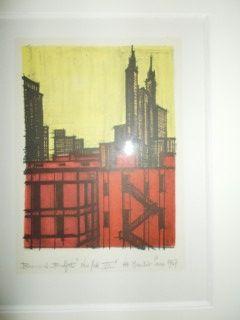 Lithograph Buffet - New York VII
