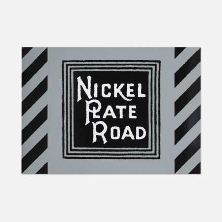 Screenprint Cottingham - NIckel Plate Road Railway