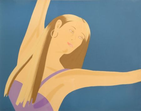 Lithograph Katz - Night: William Dunas Dance 4 (Pamela)