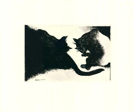 Drypoint Rose - Nightcats