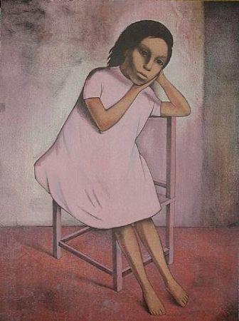 Lithograph Montoya - Nina de Rosa