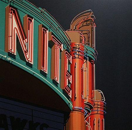 Screenprint Cottingham - Nite