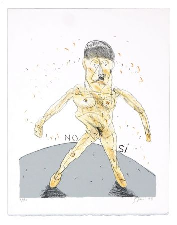 Lithograph Segui - No - Si